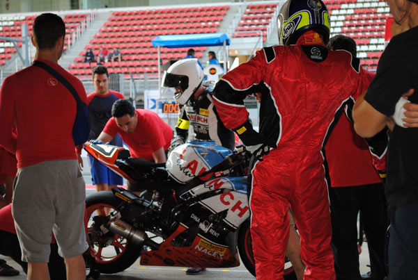 Launch equipo moto